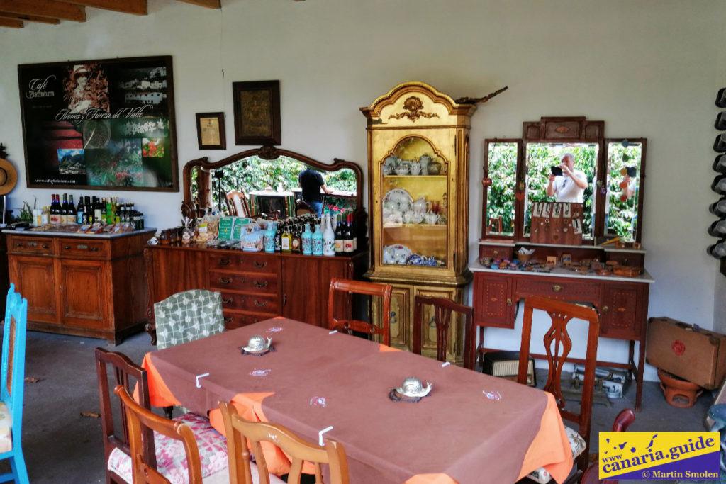 Café en Valle de Agaete