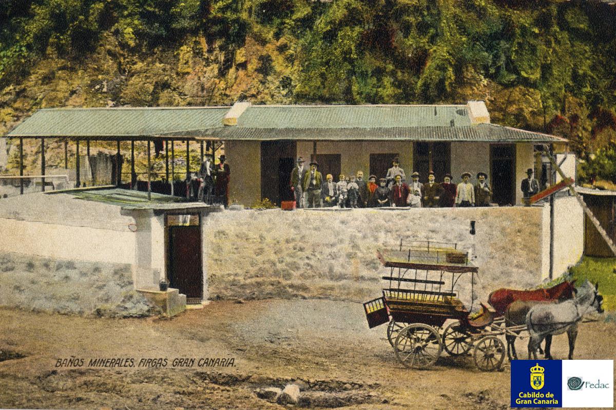 Balneario de Azuaje, 1910