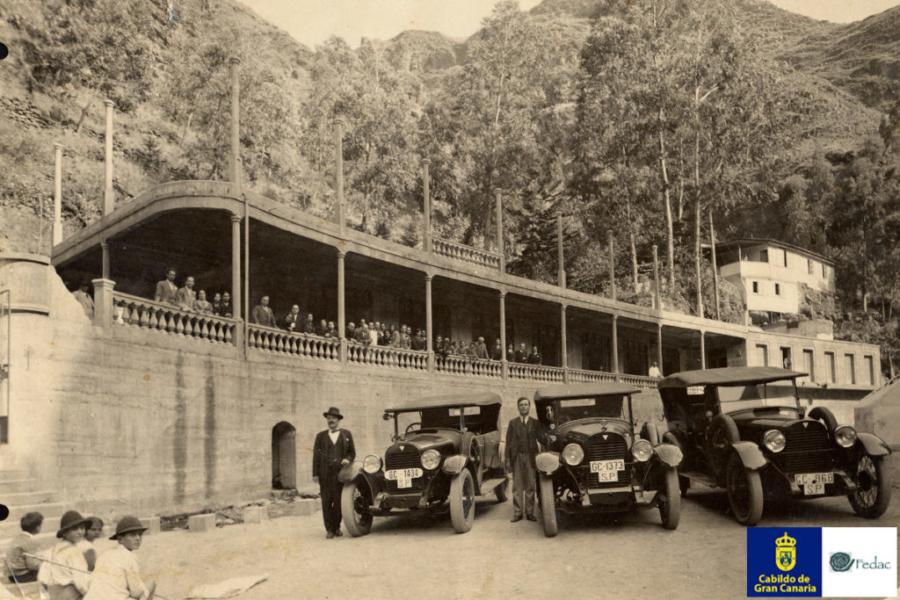 Balneario de Azuaje, 1930