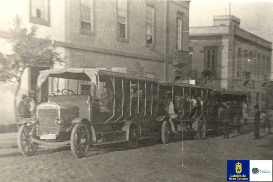 Autobuses / Guaguas 1915