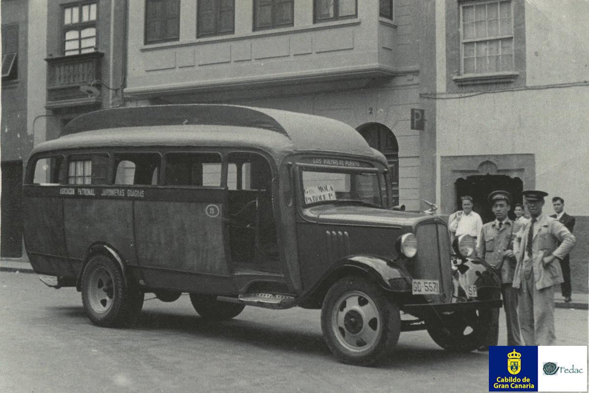Autobuses / Guaguas 1937