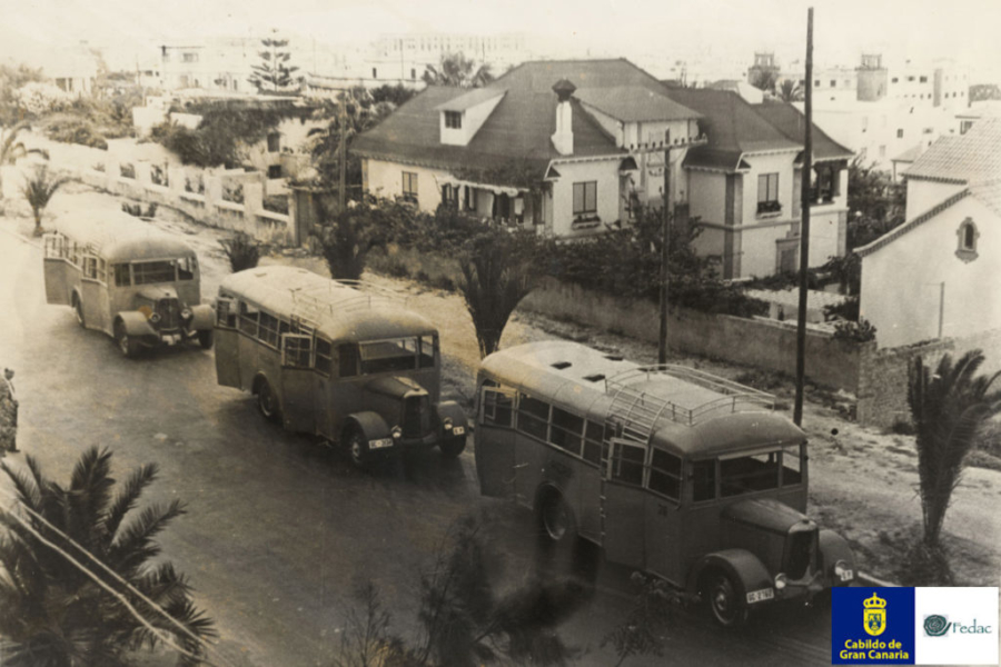 Autobuses / Guaguas 1955