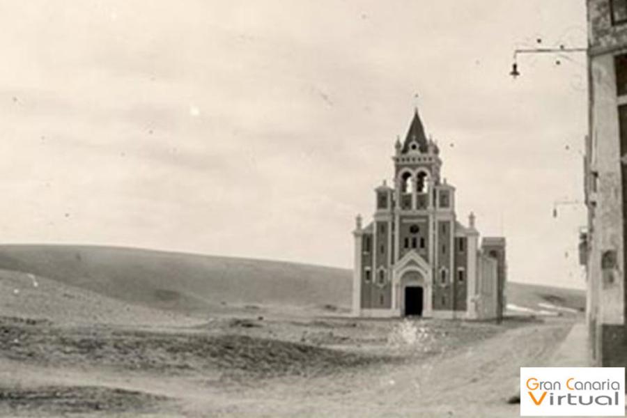 Iglesia del Pino, 1925