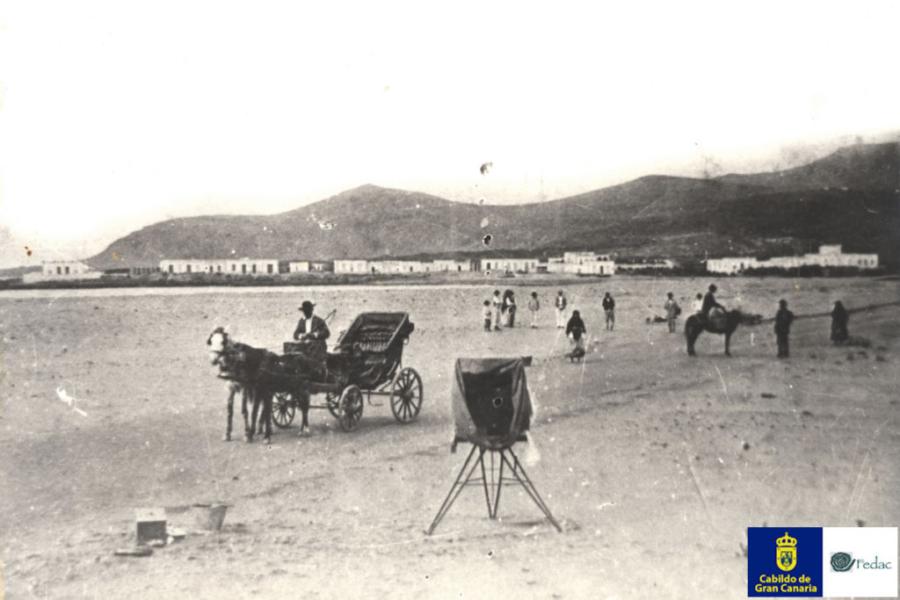 Playa Las Canteras, 1885