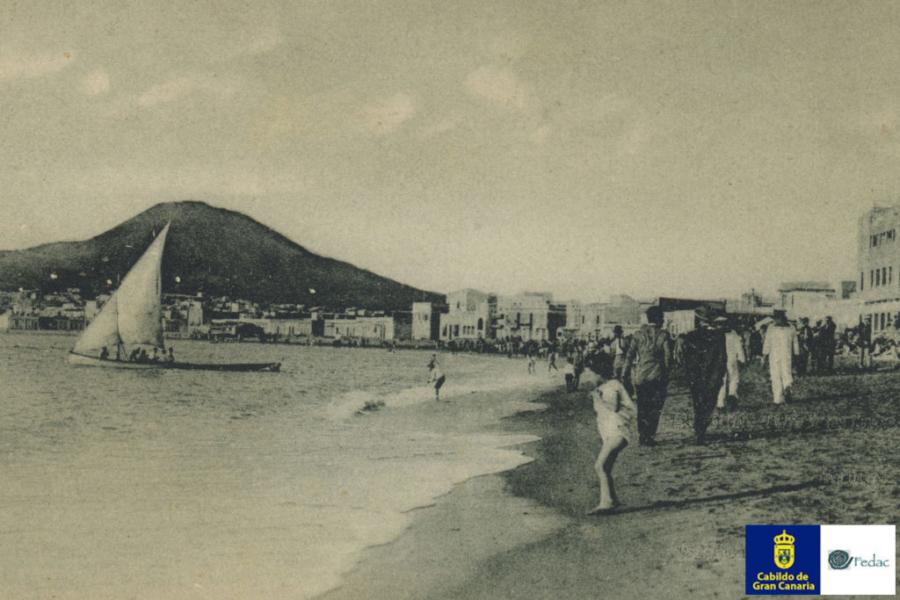 Playa Las Canteras, 1931