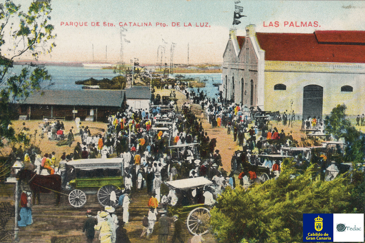 Muelle Santa Catalina, 1904