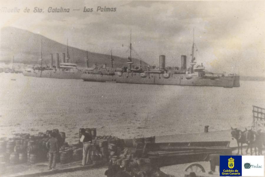 Muelle Santa Catalina, 1905