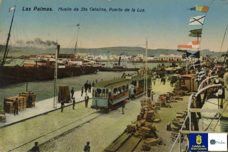 Muelle Santa Catalina, 1911