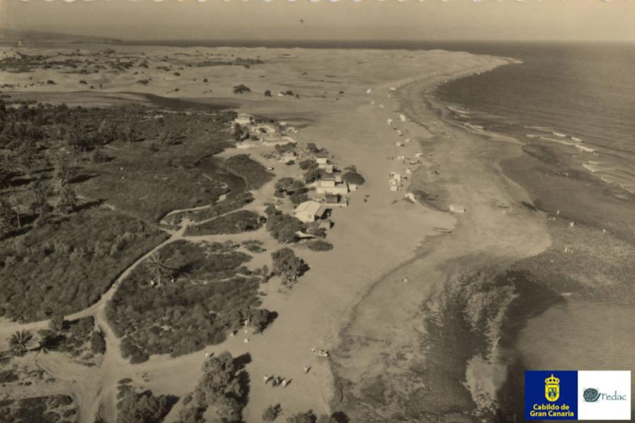 Playa de Maspalomas, 1970